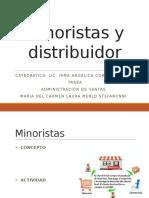 Minoristas y Distribuidor