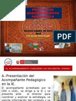 Ppt Etapas que considera el Acompañamiento segun la RSG N°008-2016