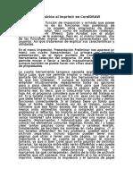 Armado e Imposición Al Imprimir en CorelDRAW