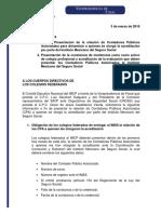Folio 9. IMSS Presentación de La Relación de Contadores Públicos Autorizados Para Dictaminar