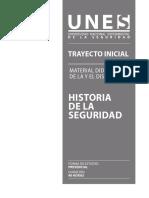 HISTORIA DE LA SEGURIDAD - MATERIAL DEL DISCENTES