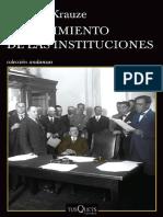El nacimiento de las instituciones (prólogo)