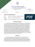 House Hearing, Innovative Finance, 2010-03