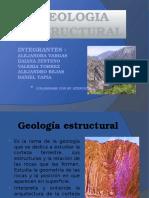GEOLOGIA ESTRUCTURAL disertar