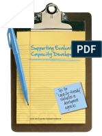 Supporting evaluation capacity development
