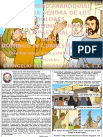 HOJITA EVANGELIO  DOMINGO  IV CUARESMA C COLOR
