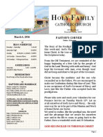 church bulletin 3-6-2016
