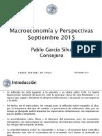 Macroeconomia y Perspectivas Chile Sep 2015