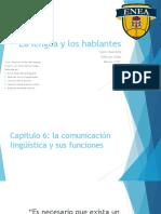 La Lengua y Los Hablantes_Practicas Sociales Del Lenguaje