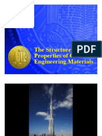 The Structure and Properties of Civil engineering Materials