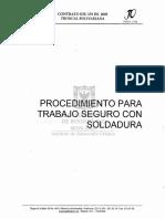 TRAAJO DE SOLDADURA