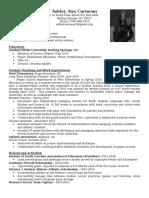 ashley carmean resume final