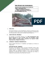 Informe Tecnico de Congruencia