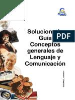 Solucionario Guía _Conceptos Generales de Lenguaje y Comunicación
