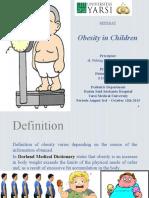 Revised Ppt Obesitas Anak Fitria