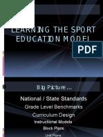 sport education model  se