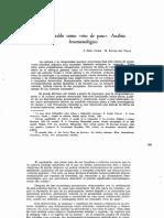 El Aguinaldo Como Rito de Paso. Análisis Fenomenológico