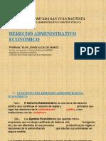 Derecho Administrativo Económico