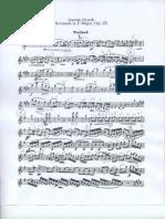 Dvorak Serenade Violin 1