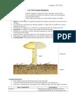 3.3; The Fungus Kingdom