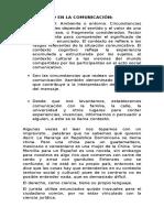 El Contexto en La Comunicación Clase 2 Derecho