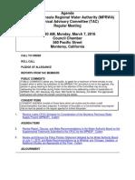 TAC MPRWA Agenda Packet 03-07-16