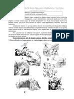 Guia de trabajo Pueblos Aborigenes Chilenos y Reflexion