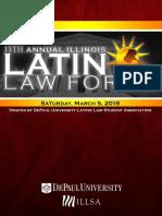 13th Annual Illinois Latino Law Forum