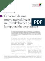 Creacion de Nueva Metodología Multistakeholder