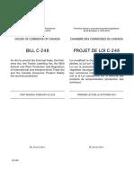 Projet de loi C-246