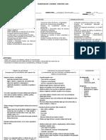 Planif. Semestral II Lenguaje 7mo- 2014