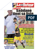 LE BUTEUR PDF du 20/04/2010