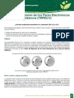 Enlace Covalente. Teoría de Repulsión de Los Pares Electrónicos de La Capa de Valencia