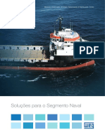 WEG Solucoes Para o Segmento Naval 50026247 Catalogo Portugues Br