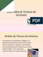Auditoria de Tecnica de Sistemas Luisa