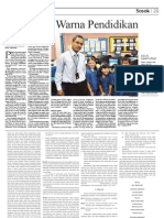 Agus Sampurno Di Harian Media Indonesia 31 Maret 2010