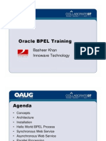 Oracle BPEL Training