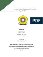 Efusi Pleura et causa Adenokarsinoma Paru