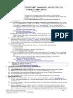 Affidavit of Citizenship, Domicile, and Tax Status, Form #02.001