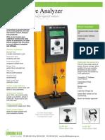 Brookfield CT3 - Texturometro Press