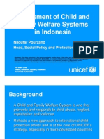 Assessment of Child and Family Welfare Systems in Indonesia