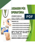 FISIOTERAPIA PÓS OPERATÓRIA