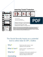 Measuring Social Protection