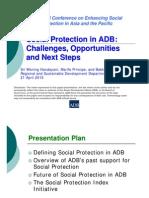 Social Protection in ADB