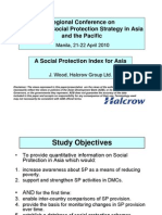 A Social Protection Index for Asia
