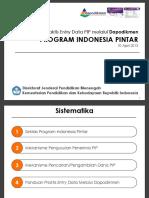 Panduan Praktis Entry Data PIP Tahun 2015