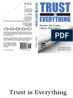 Trust is Everything Chapters 1, 2 and TOC
