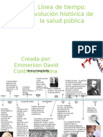 Linea Del Tiempo Salud Publica