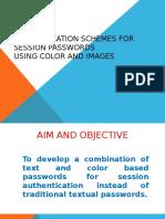 Authentication Schemes for Session Passwords