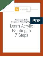 Learn Acrylic Painting